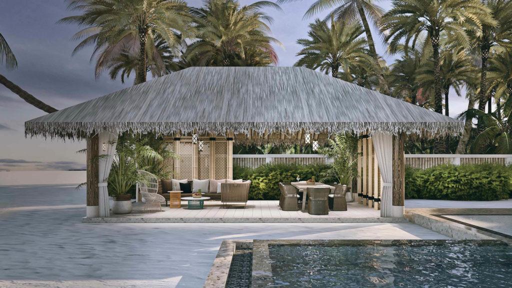 Joali, Maledivy: plážová rezidence