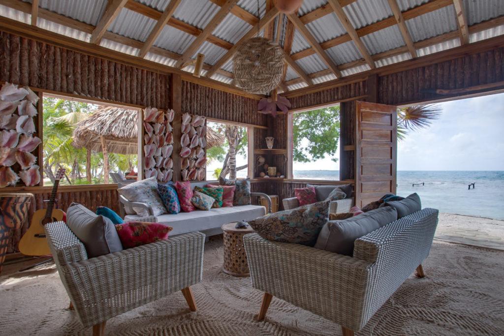 Coral Caye, Belize: interiér
