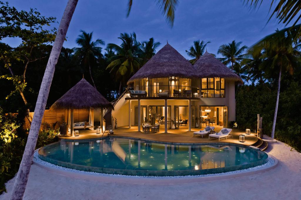Nautilus, Maledivy: plážová rezidence