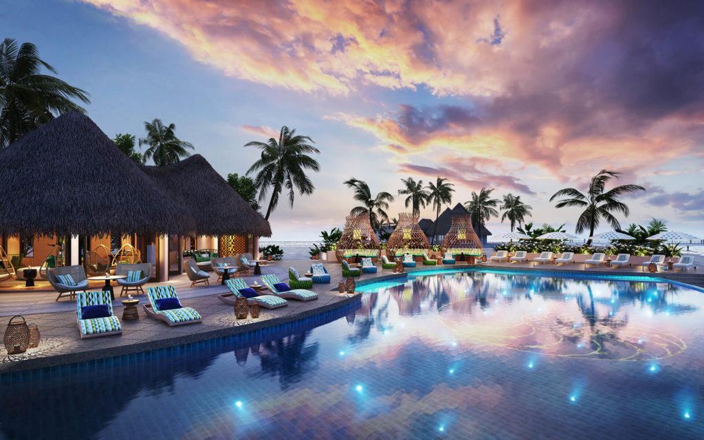 Nautilus, Maledivy: bazén