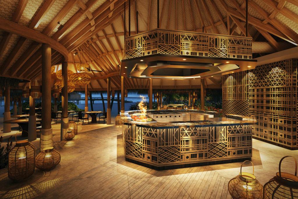 Nautilus, Maledivy: restaurace