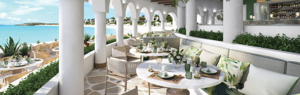 Belmond Cap Juluca, Anguilla: restaurace