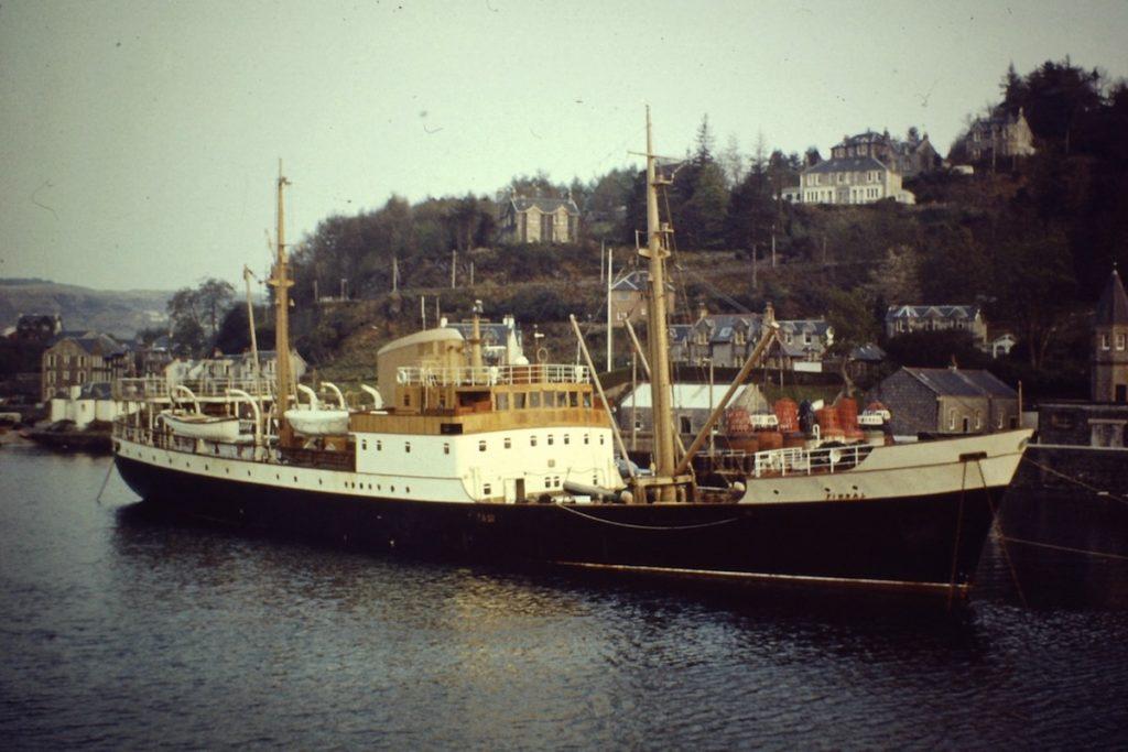 Fingal, Edinbourgh: kdysi zásobovala majáky v Severním moři