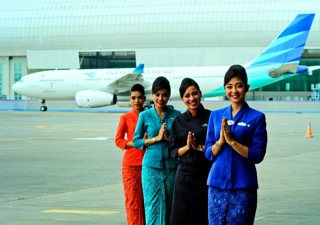 "V kategorii ""nejlepší posádka"" vyhrály letušky Garuda Indonesia"