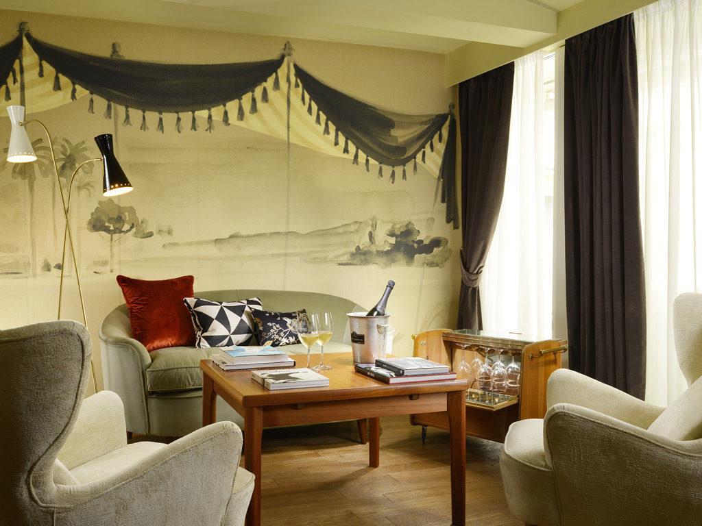 Hotel De' Ricci, Řím: suity jsou nejsou velké, ale útulné