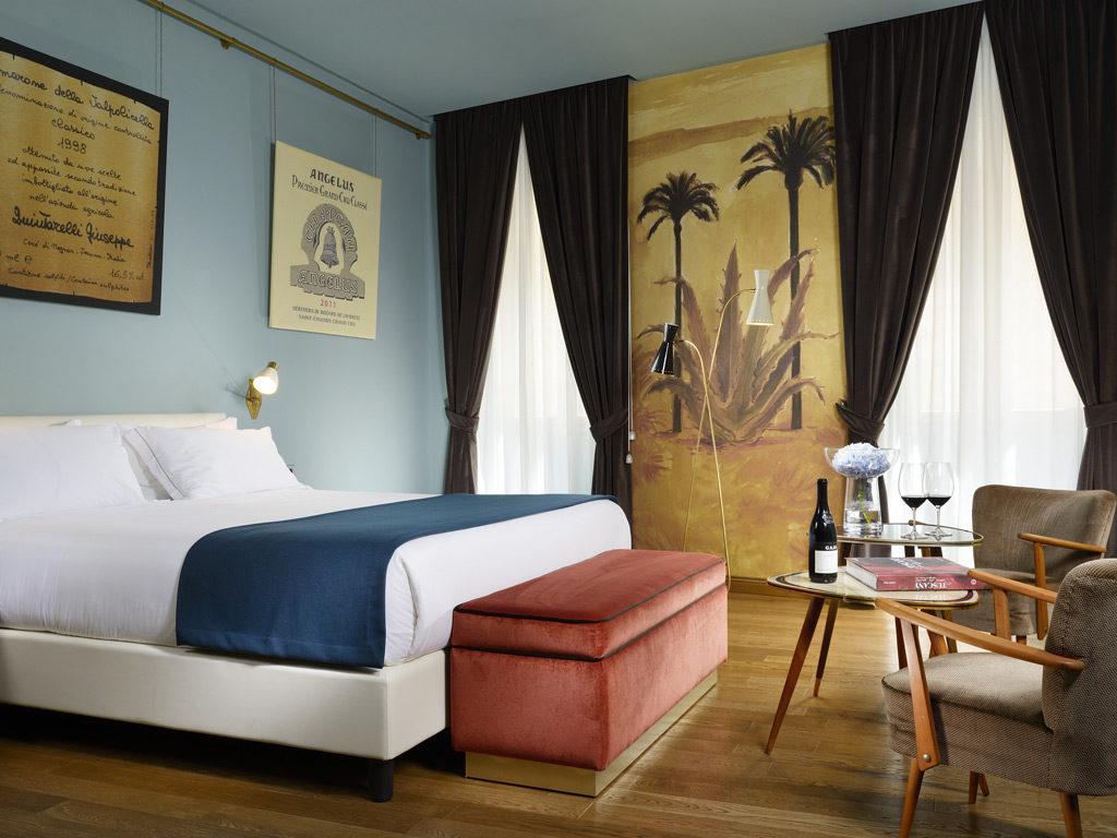 Hotel De' Ricci, Řím: každý suit je jiný