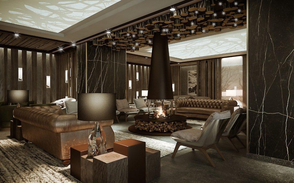 Hotel Le Massif, Courmayeur: recepce