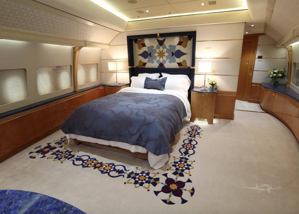 Boeing 747-8i: ložnice