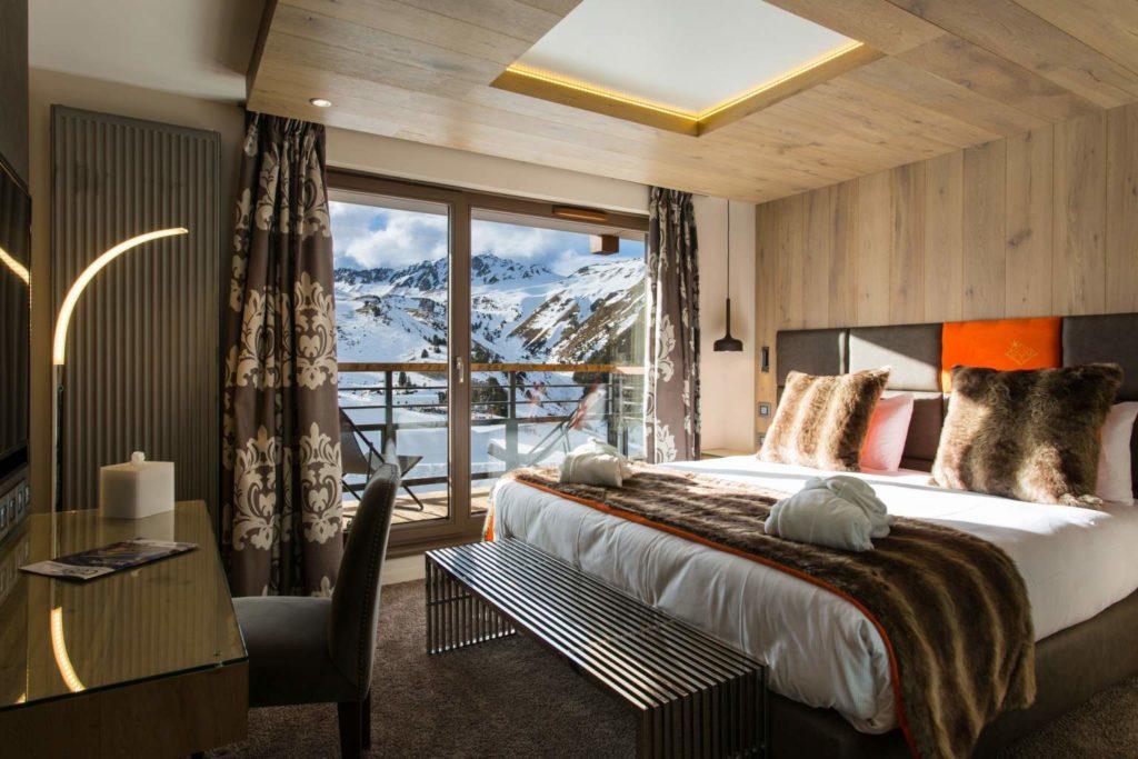 Hotel Daria-I Nor, Alpe-d'Huez, pokoj s balkonem