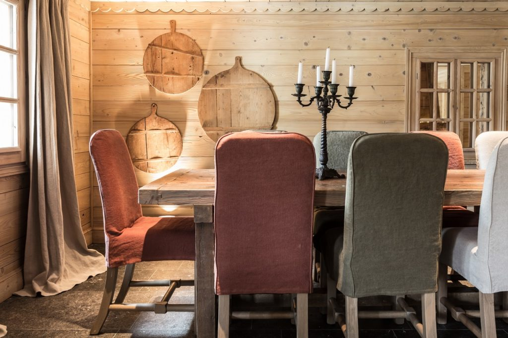 Le Cerf Amoureux, Savojské Alpy: restaurace
