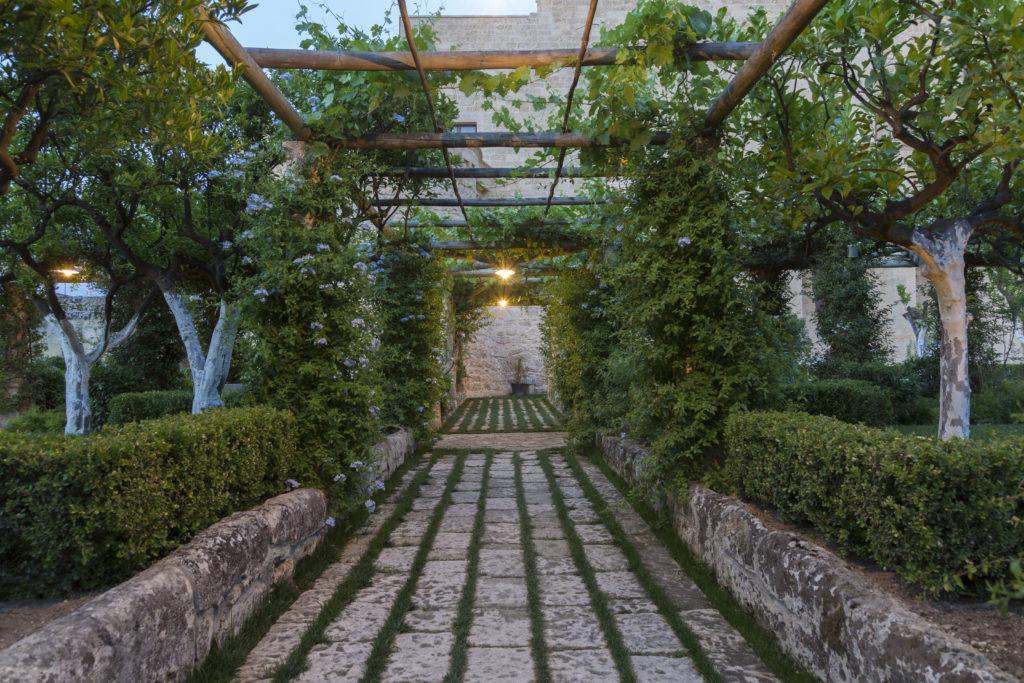 Castello di Ugento, Apulie: kuchyňská zahrada