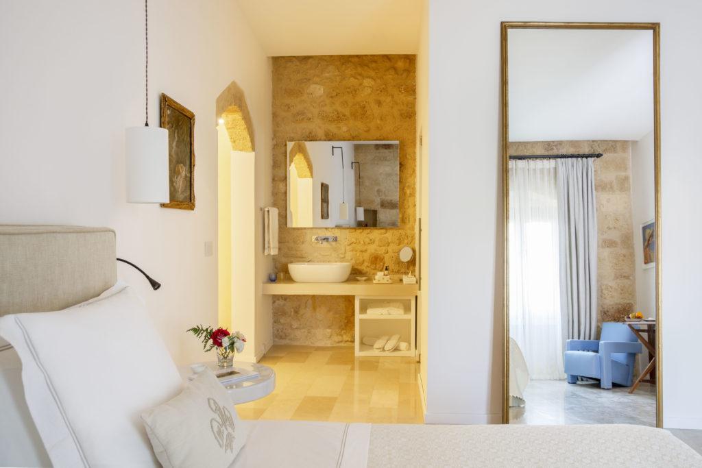 Castello di Ugento, Apulie: pokoj