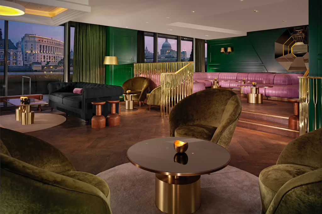 Dandelyan Bar: Mondrian London, 20 Upper Ground, London SE1 9PD