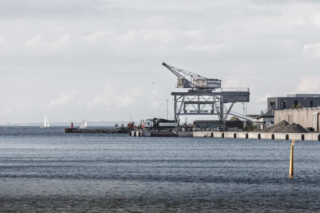 The Krane, Kodaň: hotel v přístavním jeřábu
