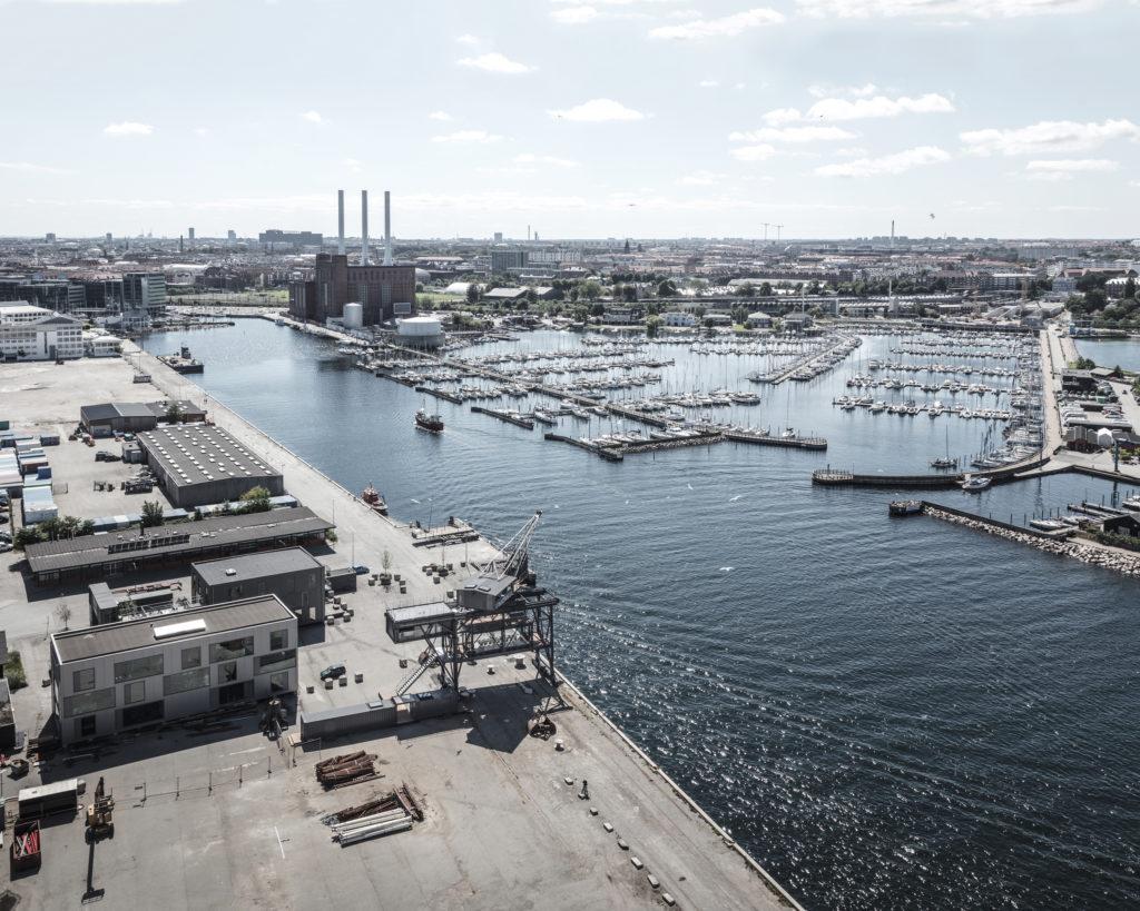 The Krane, Kodaň, průmyslová krajina