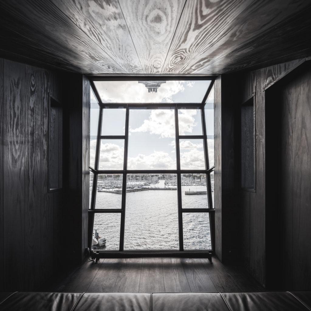 The Krane, Kodaň, výhled z ložnice