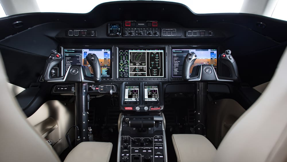 Honda Jet Elite, kokpit