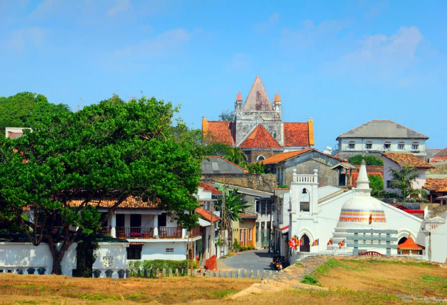 Galle, nejkrásnější město na Srí Lance