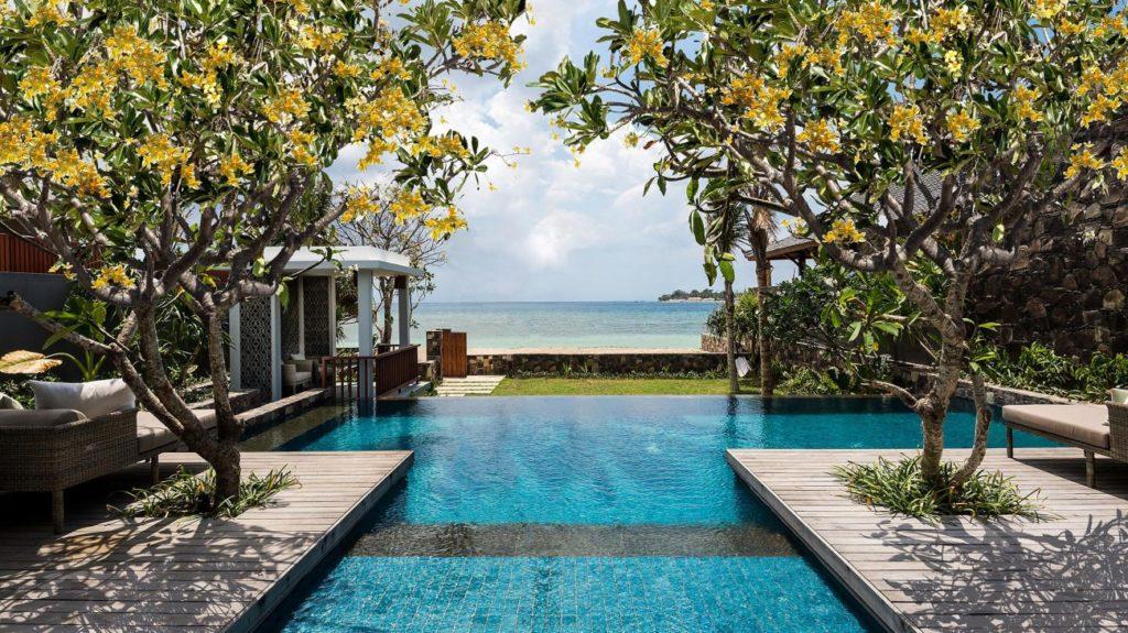 Legian Sire Lombok, Indonesie: jednoložnicová plážová vila