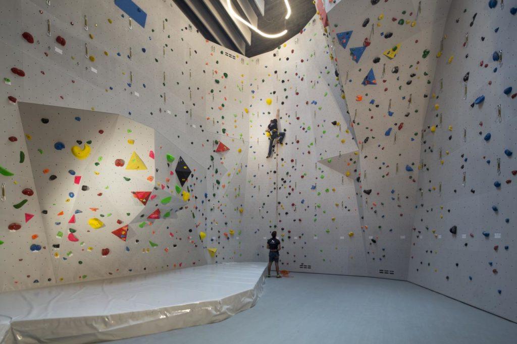 Camp Zero, Frachey: šplhací stěna