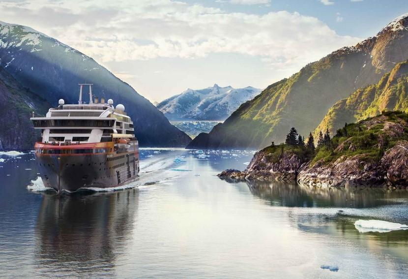 Od příštího roku se můžete s Hurtigruten vypravit i na Aljašku.