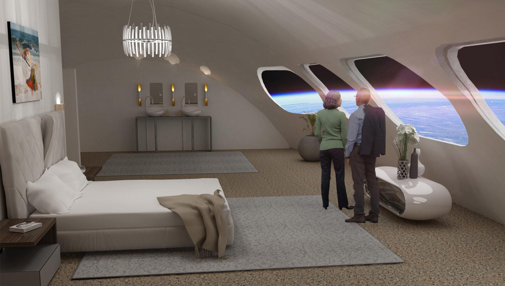 Von Braun Space Station: interiér